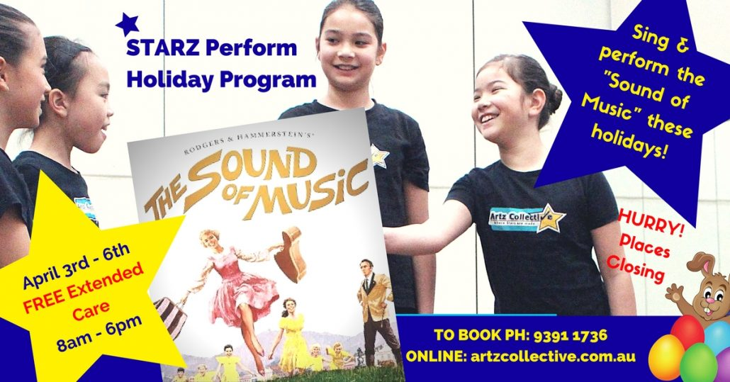 """The Sound of Music"" Music Theatre workshops"